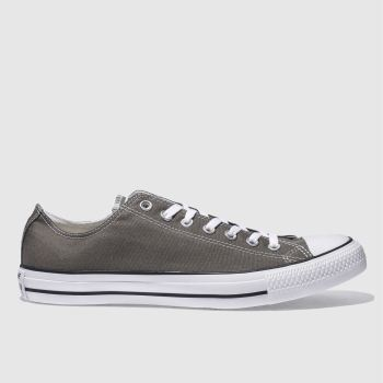 Converse Grey All Star Speciality Ox Mens Trainers#