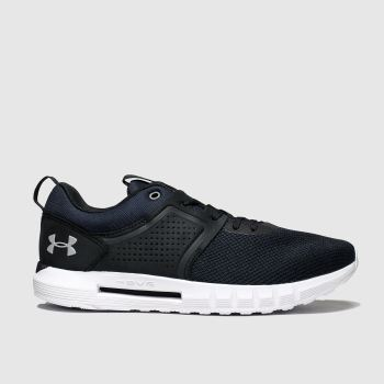 Under Armour Black & White Hovr Ctw Trainers