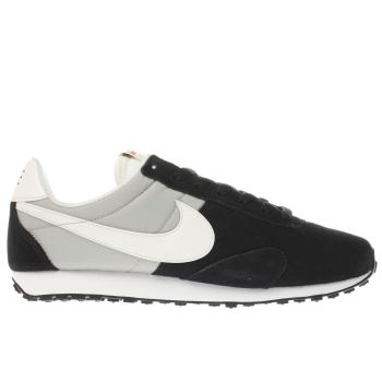 NIKE BLACK & GREY PRE MONTREAL 17 TRAINERS