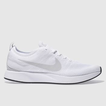 Nike White Dualtone Racer Mens Trainers from Schuh