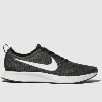 Nike Black & Grey Dualtone Racer Mens Trainers