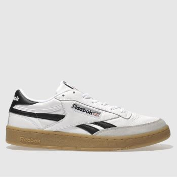 REEBOK WHITE REVENGE PLUS GUM TRAINERS