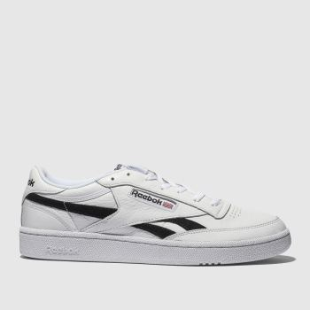 Reebok White & Black Revenge Plus Mens Trainers