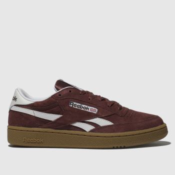 Reebok Burgundy Revenge Plus Mens Trainers