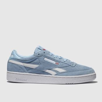 Reebok Pale Blue Revenge Plus Mens Trainers