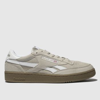 Reebok Beige Revenge Plus Mens Trainers