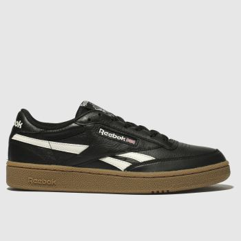 REEBOK BLACK REVENGE PLUS TRAINERS