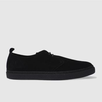 Fred Perry Black Linden Mens Shoes