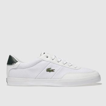Lacoste White Court Master Mens Trainers