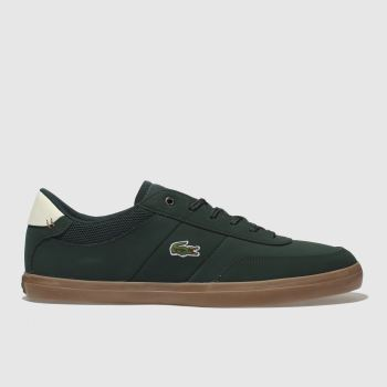 Lacoste Green Court-Master Mens Trainers