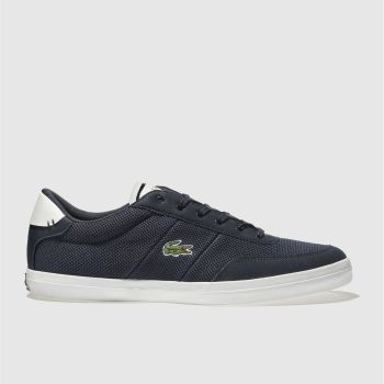 Lacoste Navy Court-Master Mens Trainers