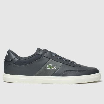 Lacoste Dark Grey Court-Master Mens Trainers