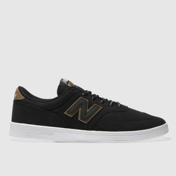 New Balance Black & Brown All Coasts 617 Mens Trainers