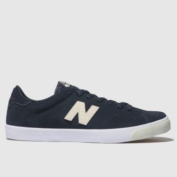 New Balance Navy & White ALL COASTS 210 Trainers