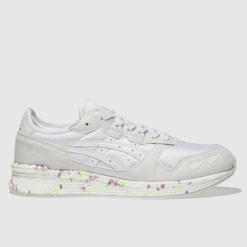 Asics White Hyper Gel-Lyte Mens Trainers
