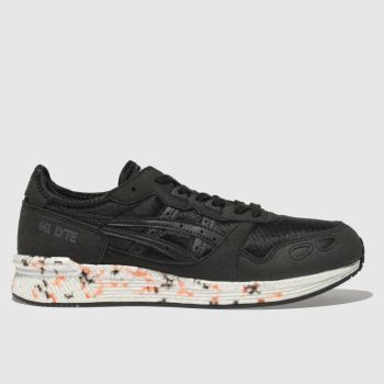 Asics Black Hyper Gel-Lyte Mens Trainers