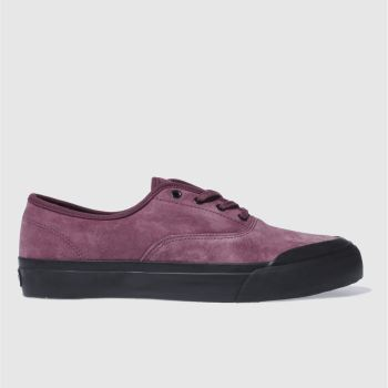 Huf Burgundy Cromer Mens Trainers
