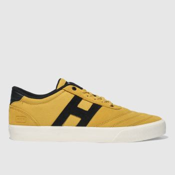 Huf Yellow Galaxy Mens Trainers