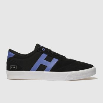 Huf Black and blue Galaxy Mens Trainers