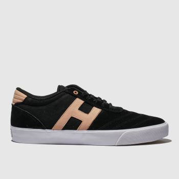 Huf Black & pink Galaxy Mens Trainers