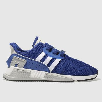 Adidas Blue Eqt Cushion Adv Mens Trainers