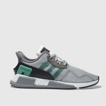 Adidas Light Grey Eqt Cushion Adv Mens Trainers