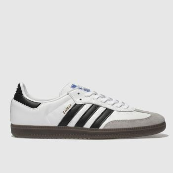 Adidas White & grey Samba Og Mens Trainers#