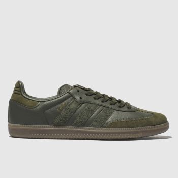 Adidas Khaki Samba Og Ft Mens Trainers