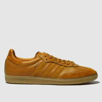 Adidas Tan Samba Og Ft Mens Trainers