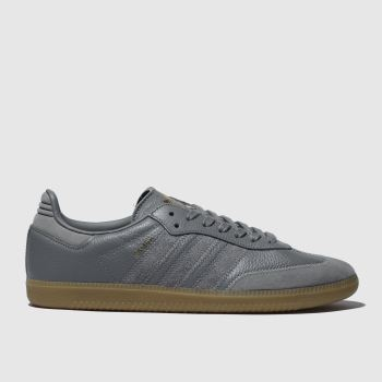 Adidas Grey Samba Og Ft Mens Trainers