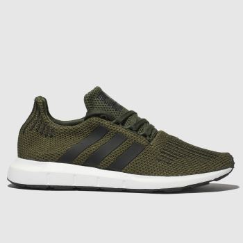 Adidas Khaki Swift Mens Trainers