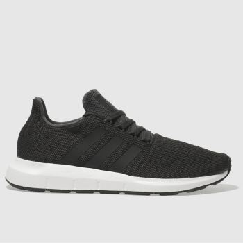Adidas Black Swift Run Mens Trainers#