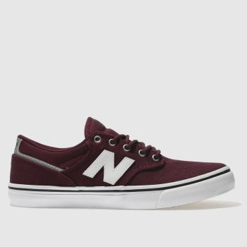 New Balance Burgundy All Coasts 331 Mens Trainers