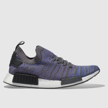 Adidas Blue Nmd_R1 Stlt Prime Knit Mens Trainers