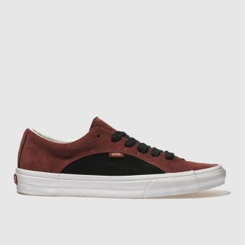 Vans Burgundy Lampin Mens Trainers