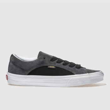f2f14f04eb41a1 mens black   grey vans lampin trainers