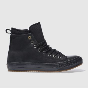 Converse Black All Star Waterproof Boot Hi Mens Trainers