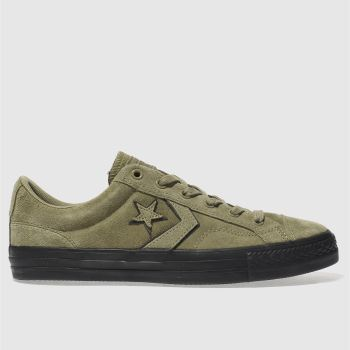 CONVERSE KHAKI  STAR PLAYER OX TRAINERS