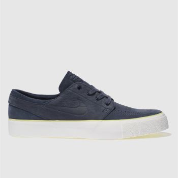 Nike Sb Navy Zoom Stefan Janoski High Tape Mens Trainers