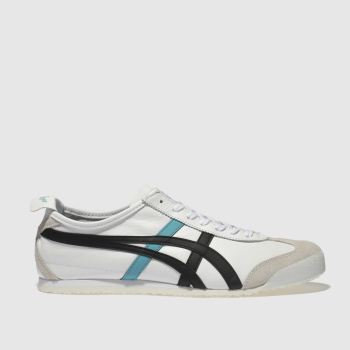 Onitsuka Tiger White & Black Mexico 66 Mens Trainers