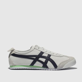 Onitsuka Tiger White & Navy MEXICO 66 Trainers
