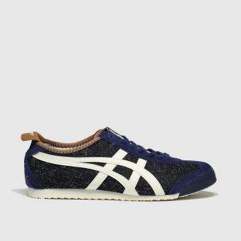 Onitsuka Tiger Navy & White Mexico 66 Trainers