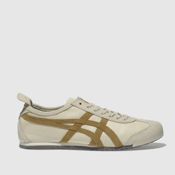Onitsuka Tiger Beige Mexico 66 Mens Trainers