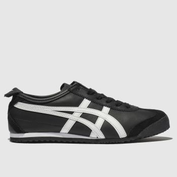 Onitsuka Tiger Black & White Mexico 66 Mens Trainers from Schuh