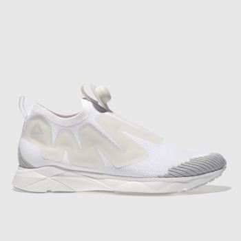 Reebok White Pump Supreme Mens Trainers