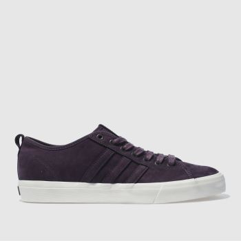 Adidas Skateboarding Purple Matchcourt Rx Mens Trainers