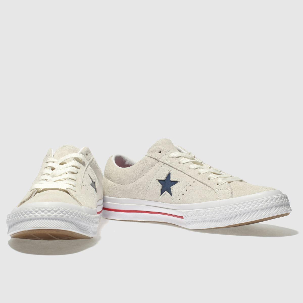 Herren Steingrau converse One Star Ox Sneaker   schuh Gute Qualität beliebte Schuhe