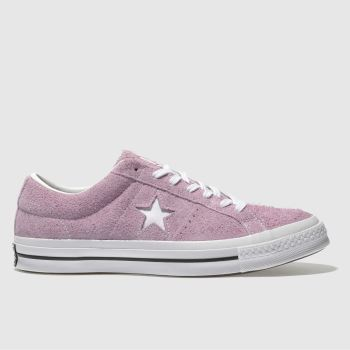 Converse Pink One Star Ox Mens Trainers