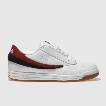 Fila White Original Tennis Varsity Mens Trainers