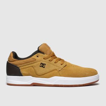 Dc Shoes Tan Barksdale Mens Trainers